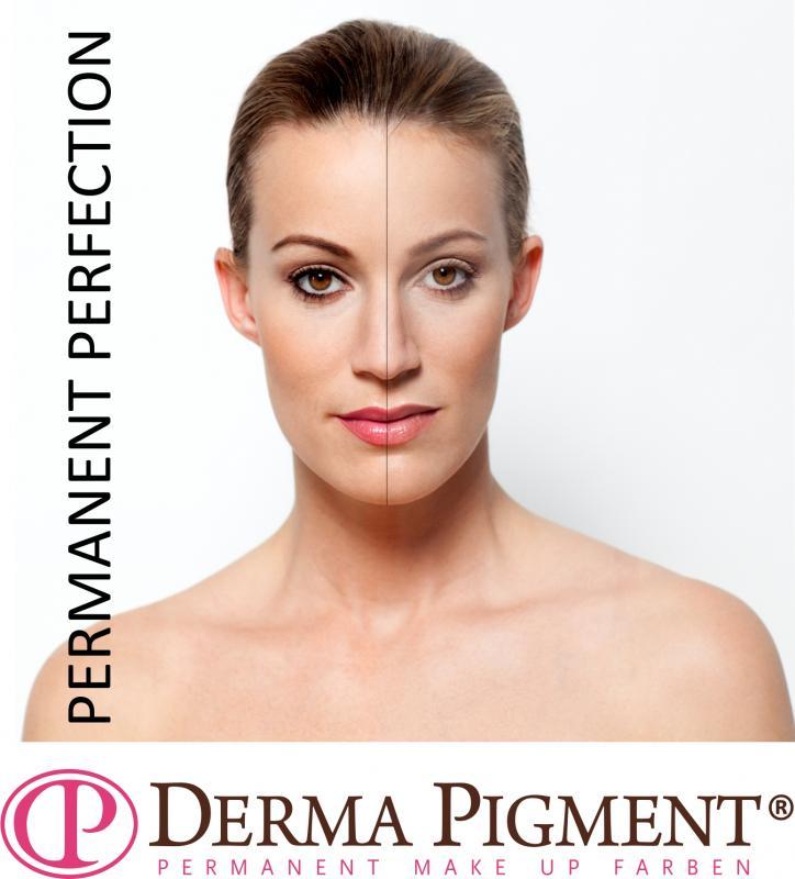 Vorher/Nachher Permanent Make-up
