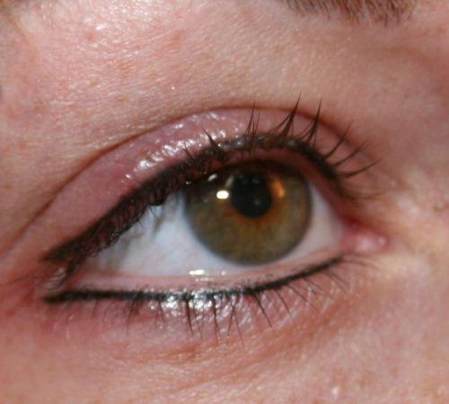 Lidstrich Permanent Make Up Von Spezialistenhand Natürliche
